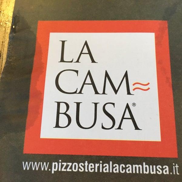 Foto scattata a Pizzosteria La Cambusa da Franz K. il 8/8/2017