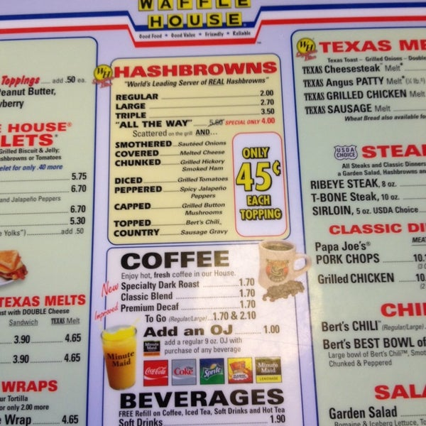 Photo taken at Waffle House by Sig D. on 12/31/2013