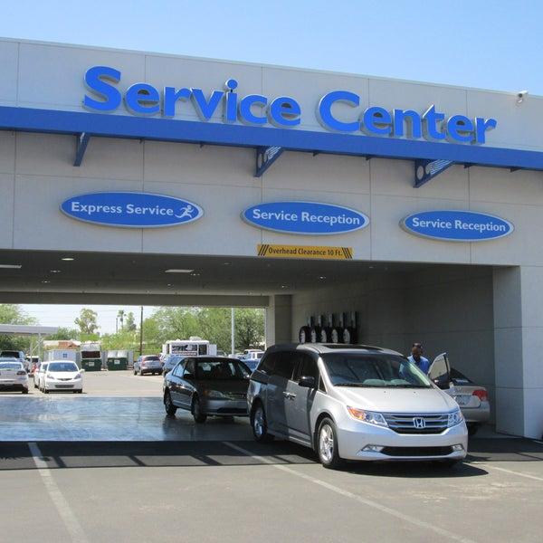Chapman honda tucson auto dealership in tucson for Honda car repair shop near me