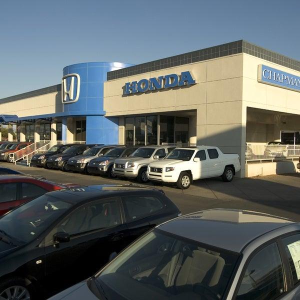 chapman honda tucson auto dealership in tucson