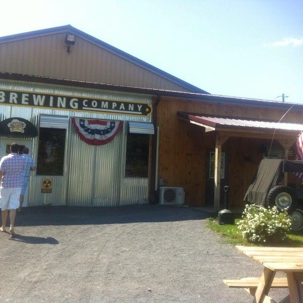 Photo taken at War Horse Brewery by joe b. on 8/23/2013