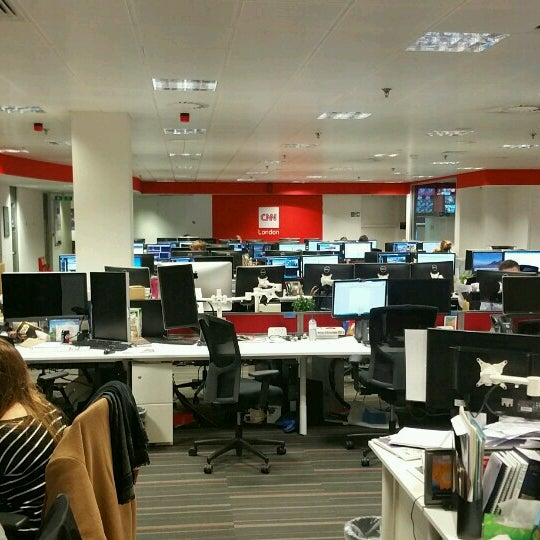 cnn london bureau office in soho. Black Bedroom Furniture Sets. Home Design Ideas