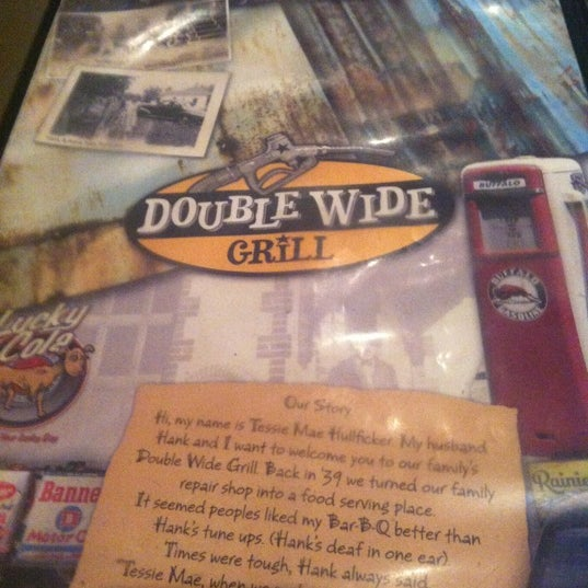 Photo taken at Double Wide Grill by Josh on 12/12/2012