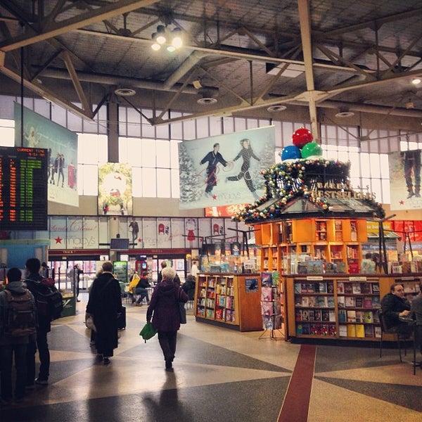 Photo taken at South Station Terminal (MBTA / Amtrak) by John B. on 12/17/2012