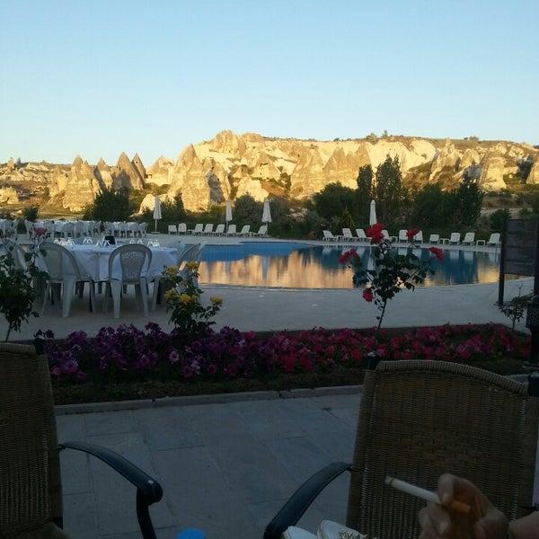 6/1/2013 tarihinde Naqiş👑ziyaretçi tarafından Tourist Hotels & Resorts Cappadocia'de çekilen fotoğraf