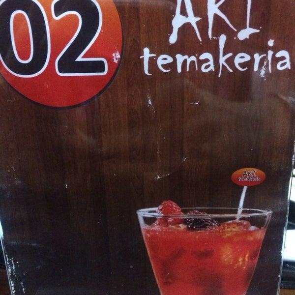 Foto tirada no(a) Aki Temakeria por Talyta em 1/19/2014
