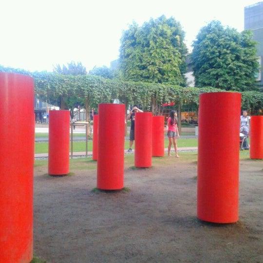 Photo taken at Bonifacio High Playground by Yssa V. on 11/4/2012
