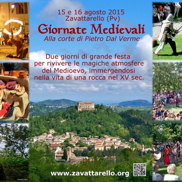 Vi aspettiamo il 15-16 agosto 2015 alle Giornate Medievali di #Zavattarello! #GMZava