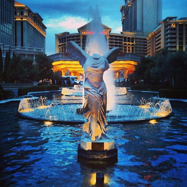 Photo taken at Caesars Palace Hotel & Casino by Lane M. on 2/20/2013