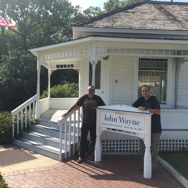 Photo taken at John Wayne Birthplace Museum by Keith on 9/19/2014