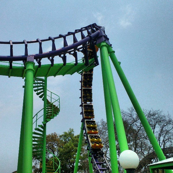 Photo taken at Six Flags México by Jorge Enrique C. on 4/20/2013