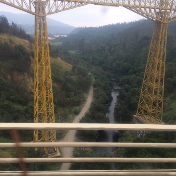 Photo taken at Monumento Nacional Puente Malleco by Julio O. on 12/16/2016