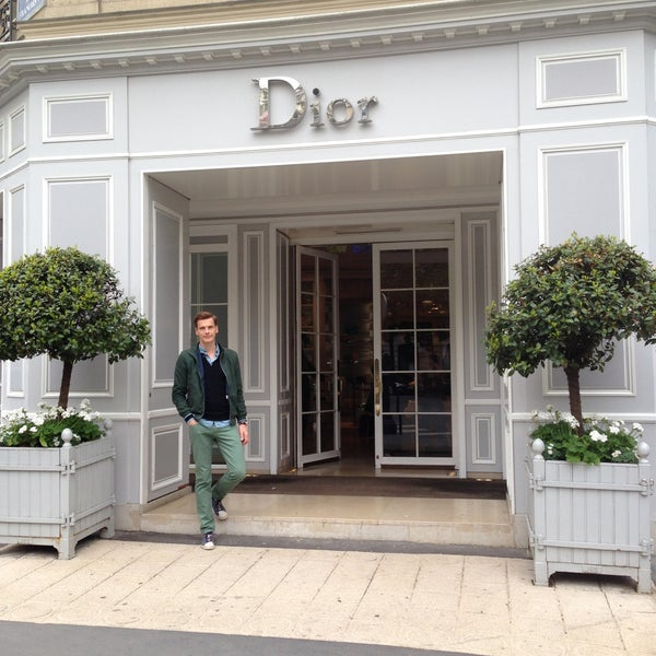 Photo taken at Christian Dior by Rob v. on 5/10/2013