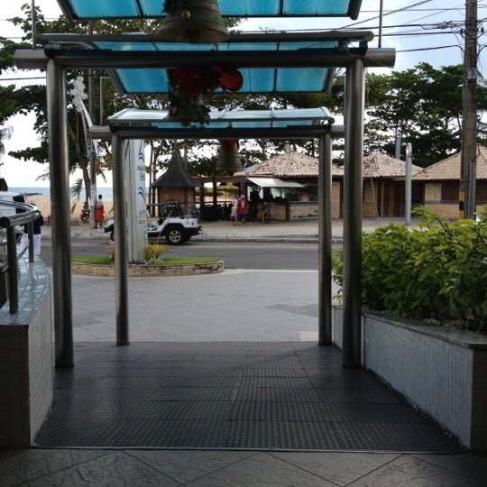 Foto tirada no(a) Atlântico Praia Hotel por Ziziprof em 12/7/2012