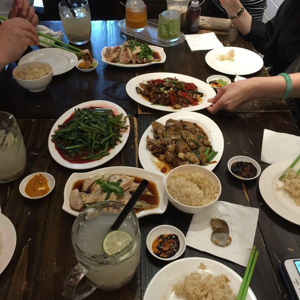 Photo taken at Five Star Hainanese Chicken Rice by Chu on 5/21/2017