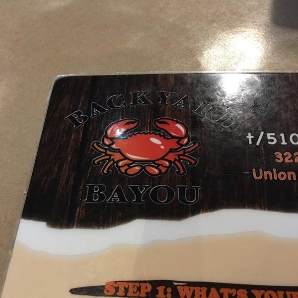 backyard bayou cajun creole restaurant in union city