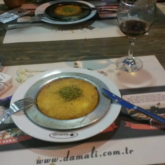Photo taken at Damalı Restaurant by Canan Y. on 5/30/2014