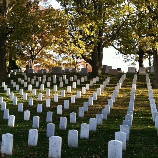 Photo taken at Arlington National Cemetery by Erica L. on 11/11/2012
