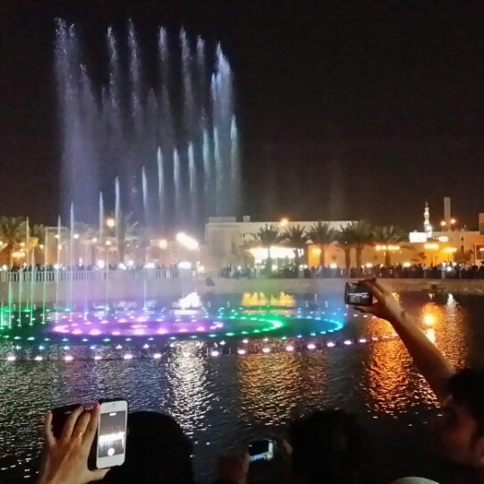 Photo taken at King Abdullah Park by ziad a. on 10/12/2013