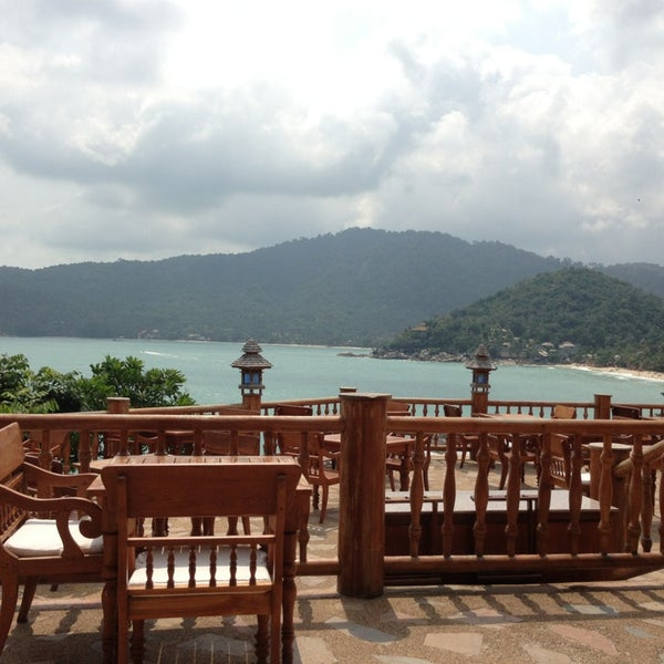 Photo taken at Santhiya Resort And Spa Koh Phangan by Numon S. on 1/25/2013