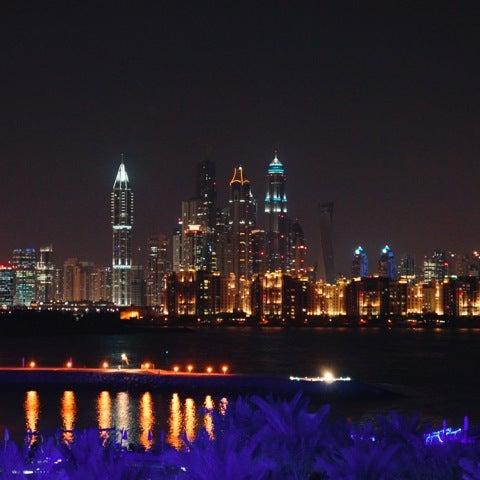 11/19/2012 tarihinde konstziyaretçi tarafından Rixos The Palm Dubai'de çekilen fotoğraf