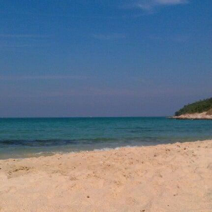 Photo taken at Sai Keaw Beach by Sergey Z. on 12/25/2012