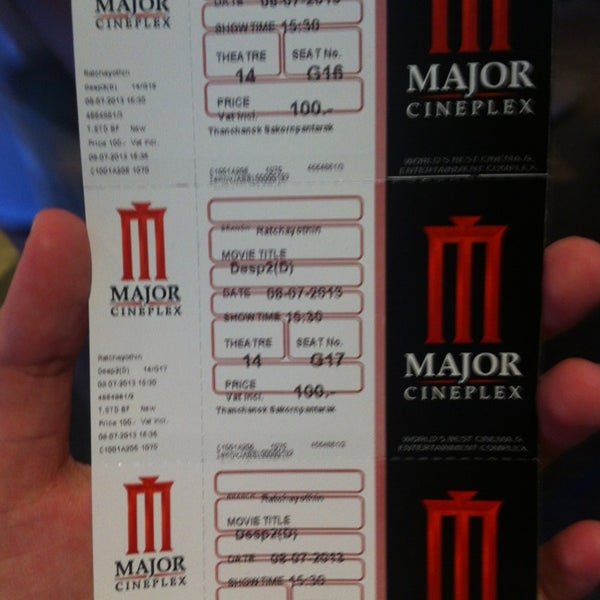 Photo taken at Major Cineplex Ratchayothin by Maii on 7/8/2013