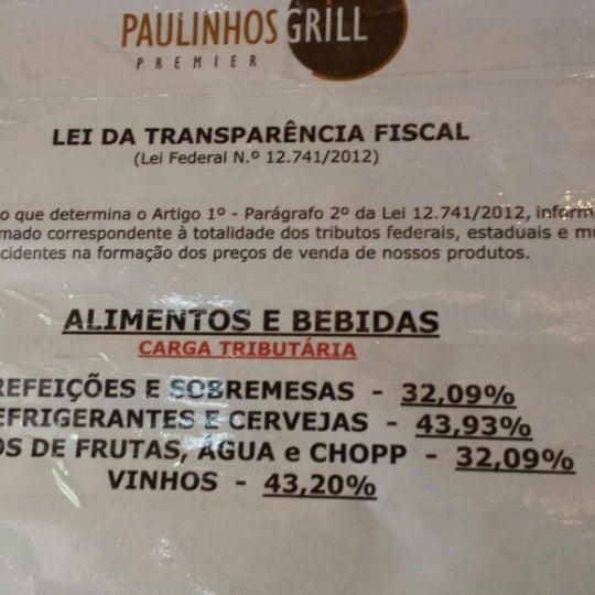 Foto tirada no(a) Paulinhos Grill por Simone m. em 9/20/2013