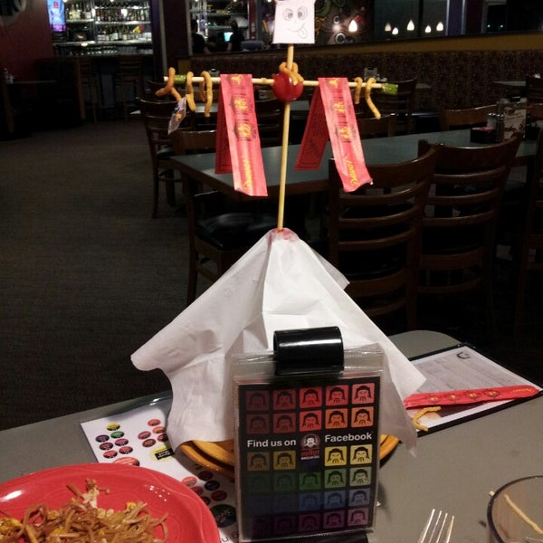 Photo taken at HuHot Mongolian Grill by Emily H. on 4/2/2013