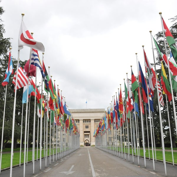 Photo taken at Palais des Nations by Cameron S. on 4/20/2013
