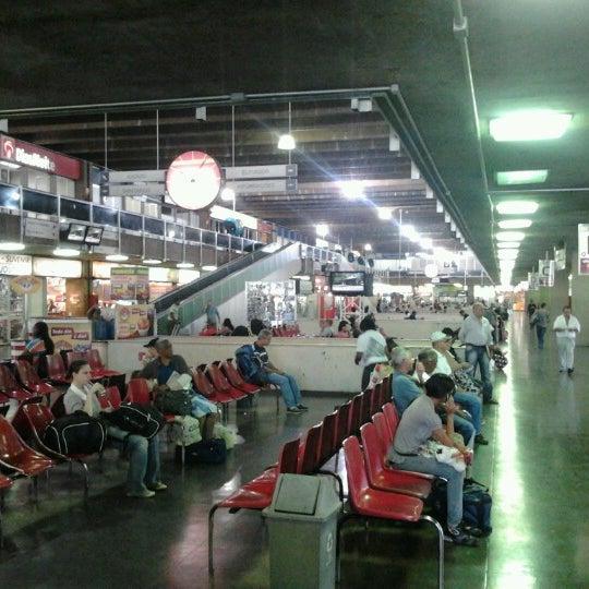 Photo taken at Terminal Rodoviário Governador Israel Pinheiro by Alessandro C. on 10/4/2012