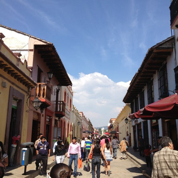 Photo taken at Andador Real de Guadalupe by Kirwan F. on 4/14/2013