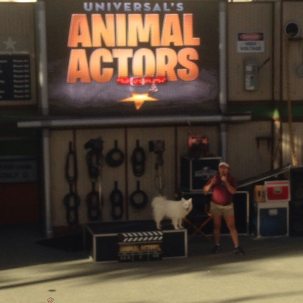Photo taken at Universal's Animal Actors by Esra on 11/3/2016