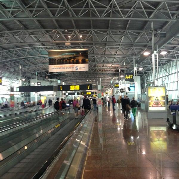 Снимок сделан в Брюссельский аэропорт (BRU) пользователем Alexandra🍒 F. 9/26/2013