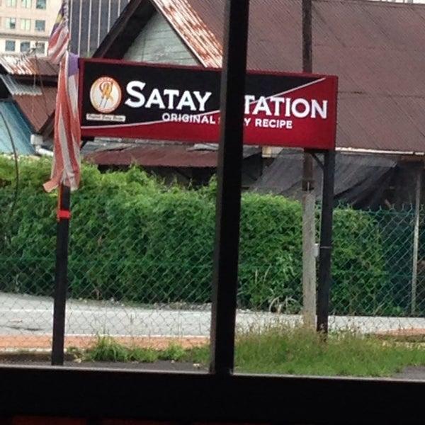 Foto tomada en Satay Station Original satay Recipe por Doormey el 4/18/2014