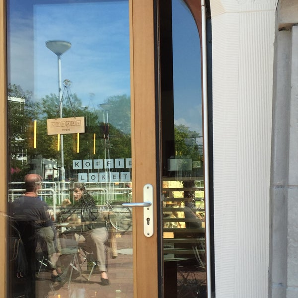 Photo taken at Lokaal Espresso by Jeff T. on 8/19/2015