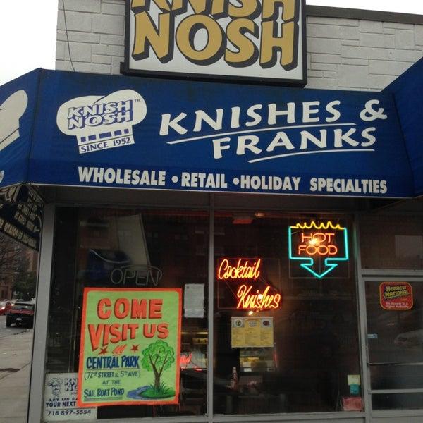 Photo taken at Knish Nosh by Mitch Z. on 1/16/2013