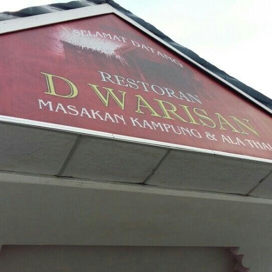 Photo taken at Restoran D'Warisan by fzl a. on 12/6/2015