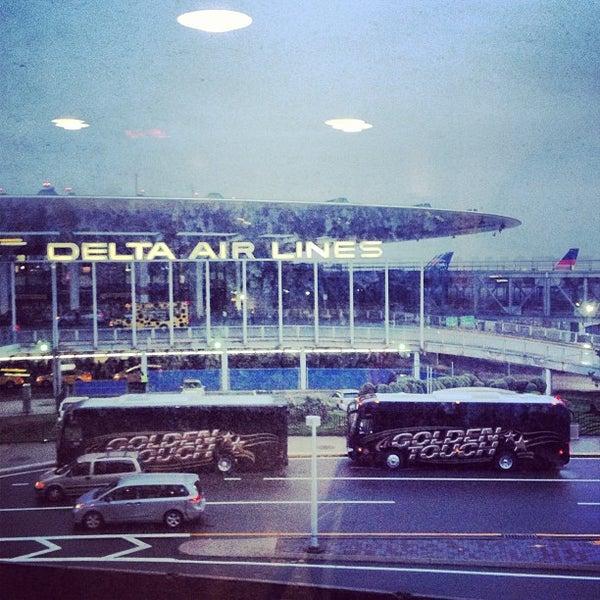 Photo taken at Terminal 3 by Tanya B. on 4/29/2013