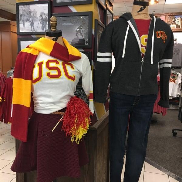 Photo taken at USC Bookstore (BKS) by Jana T. on 11/21/2016