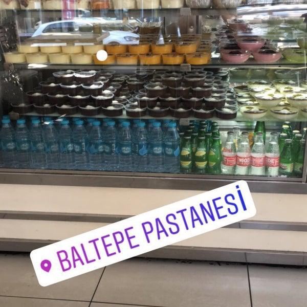 7/25/2017 tarihinde Elif Y.ziyaretçi tarafından Baltepe Pastanesi'de çekilen fotoğraf