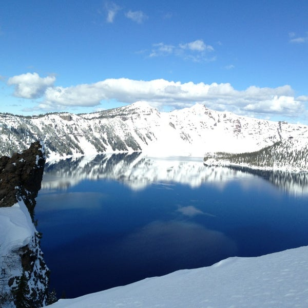 Photo taken at Crater Lake National Park by Kai W. on 3/8/2013