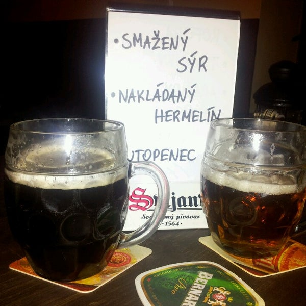 Wybór czeskich piw imponujący!