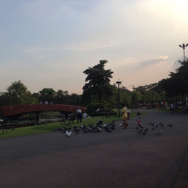Photo taken at สวนวนธรรม by จิรชน ต. on 11/30/2015