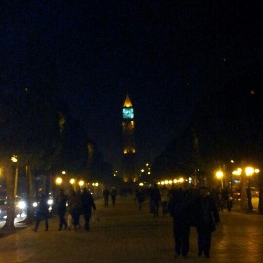 Photo taken at Avenue Habib Bourguiba by Karim B. on 12/15/2012
