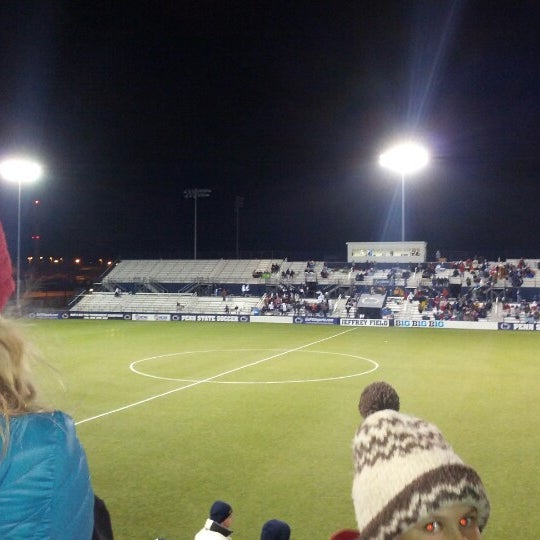 Photo taken at Jeffrey Field by Dillon S. on 11/24/2012