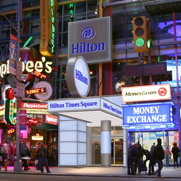 Hilton Times Square Hotel In New York