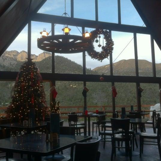 Photo taken at Mt Charleston Lodge by Danny V. on 12/5/2012