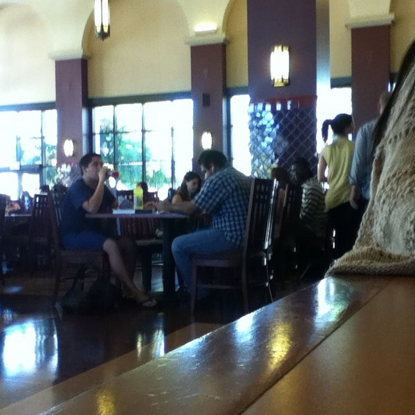 Photo taken at Dining Hall by Leslie on 9/17/2014