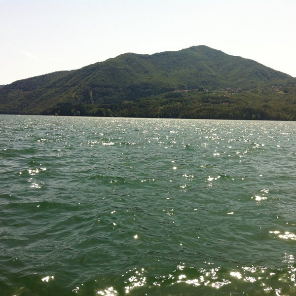 Photo taken at Lago di Suviana by Susanna B. on 8/4/2013